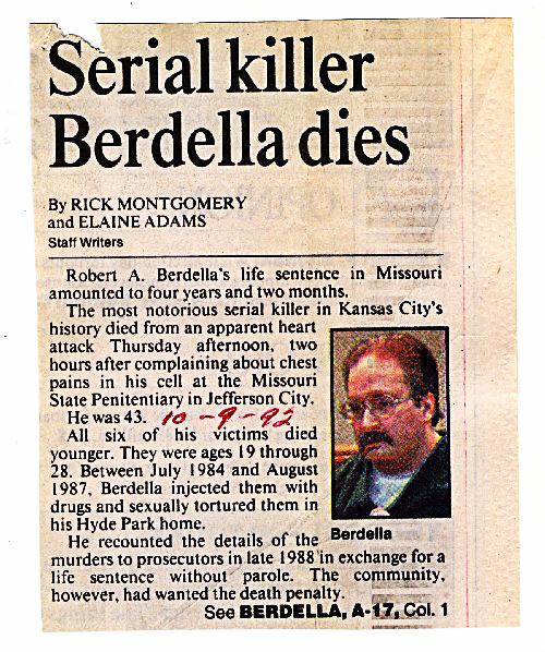 Berdella Dies
